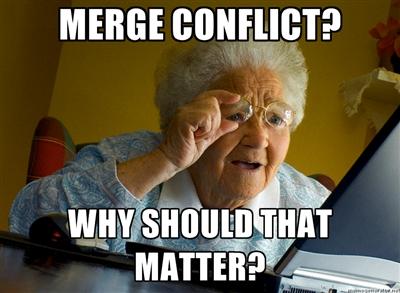 Merge conflict
